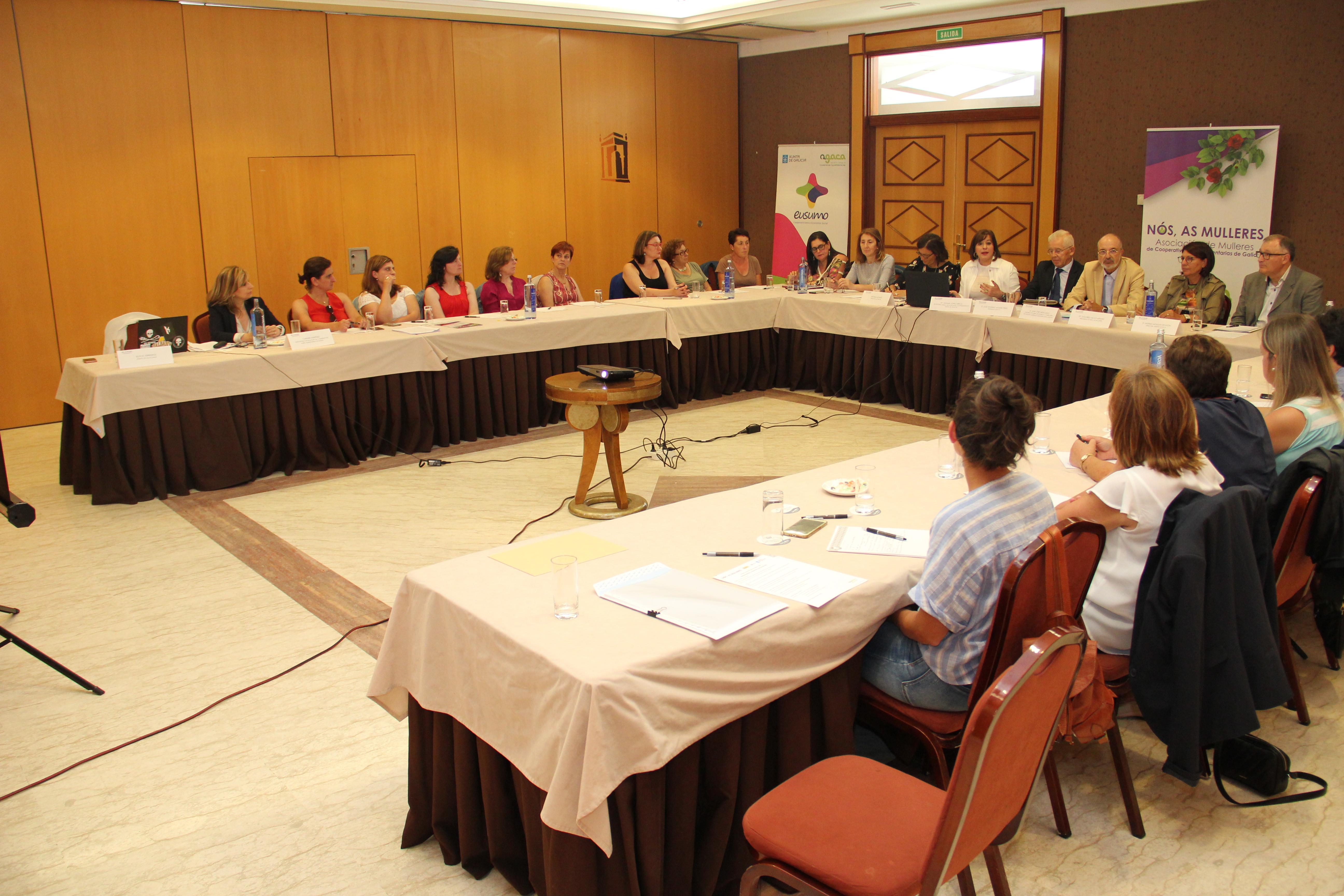 Transición feminina progresiva nos Consellos das cooperativas