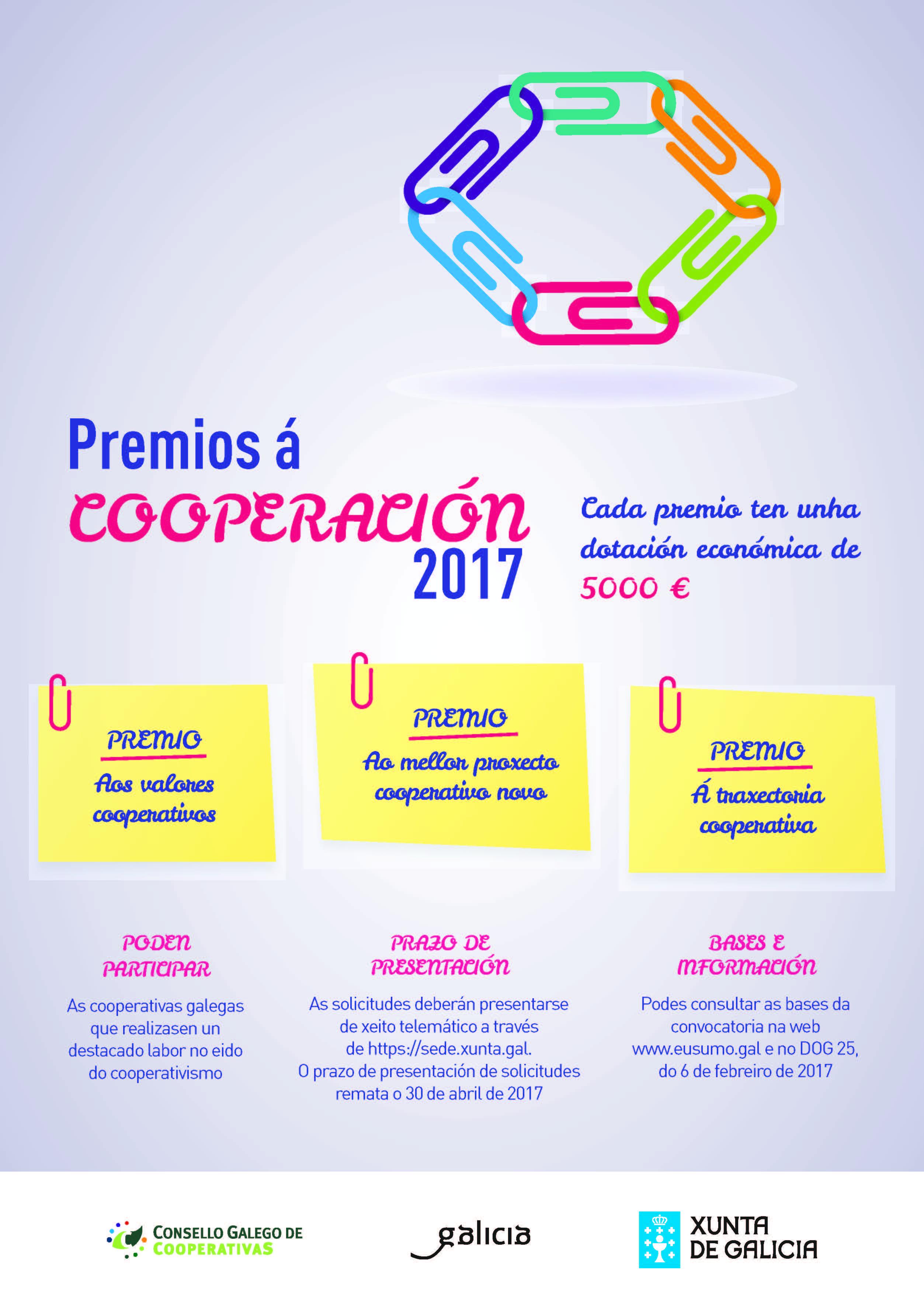 Premios á Cooperación 2017