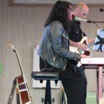 A cantante Guadi Galego ofreceu un concerto durante a celebración do nomeamento de Galicia como Rexión Amiga da Economía Social. 05/06/2019.