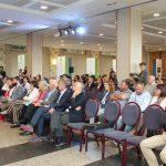 Numeroso público de diferentes entidades que operan no marco da economía social asistiu ao acto de celebración de Galicia como Rexión Amiga da Economía Social 2019 pola Comisión Europea. 05/06/2019.