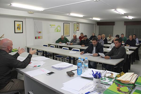 Reunión Asociación Galega de Ténicos de Equipos de Muxido - AGATEM