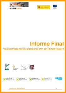 SOCIAL COOP. Informe final conjunto 2011
